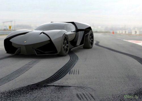 Lamborghini Ankonian : гибрид, запланированный на 2016 (фото)