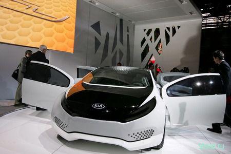 Kia Ray: Футуристичный гибридный концепт (фото)