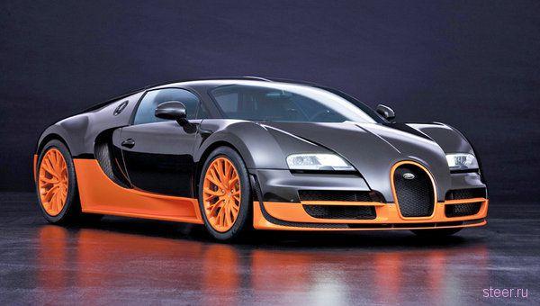 Bugatti Veyron 16.4 Super Sport : самый крутой автомобиль Парижа (фото)