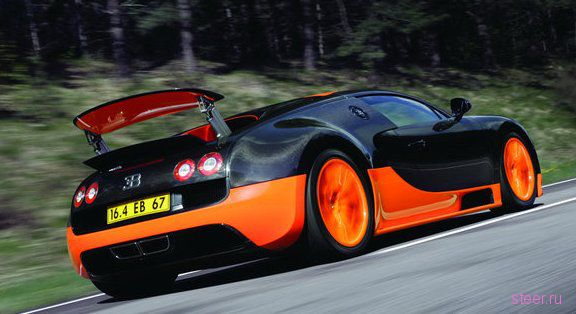 Bugatti Veyron 16.4 Super Sport : Цена 75 миллионов, скорость 431,07 км/ч (фото)