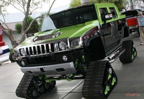 вездеход из Hummer
