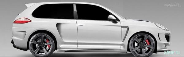 Porsche Cayenne превратили в купе (фото)