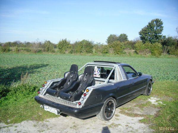 «Семерку» BMW превратили в пикап (фото)