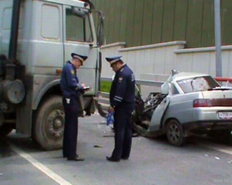 ДТП на объездной дороге в Сочи по вине ДПС (фото и видео)