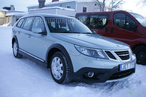 В интернет просочились снимки Saab 9-3x и Saab 9-4x