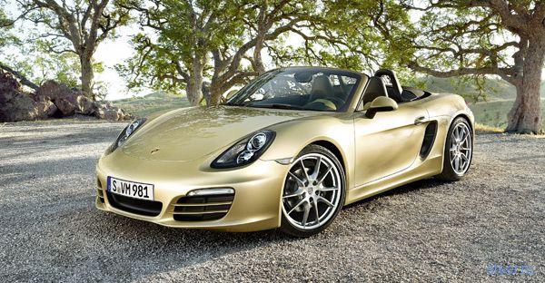 Porsche показала новый Boxster (фото)