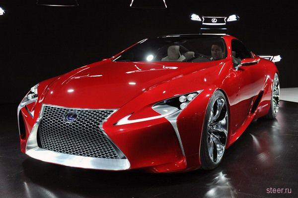 Купе Lexus LF-LC представили в Детройте (фото)