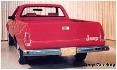 Затерявшиеся концепты. Jeep Cowboy. (фото)