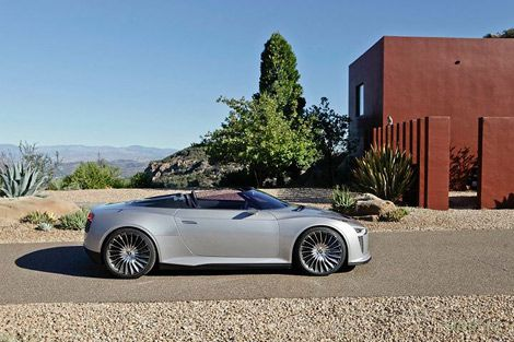 В Америке представили гибридный родстер Audi (фото)