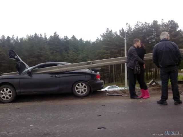Авария под Минском (фото)