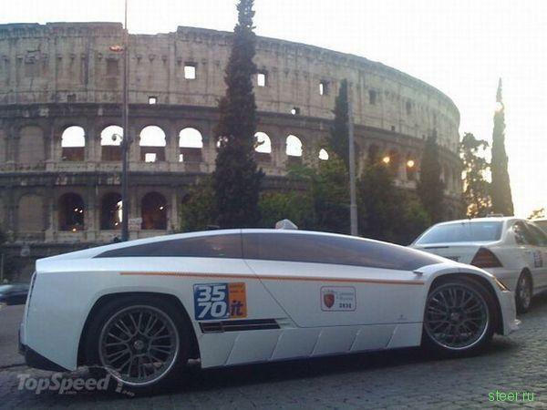 Giugiaro Quaranta : чисто римское такси (фото)