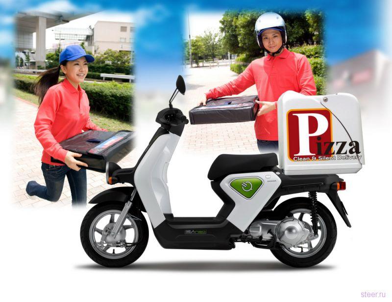 Honda EV-neo : Первый электро-мопед от Honda (фото)