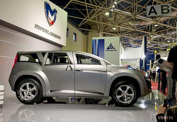 Marussia показала гигантский внедорожник (фото)