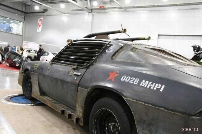 Необычный тюнинг Chevrolet Camaro (фото)
