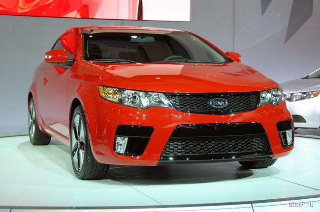 Kia Forte : Корейцы выпустили конкурента Ford Focus и Honda Civic (фото)