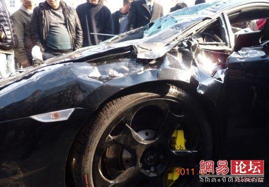 Дело принципа: : разбить Lamborghini Gallardo кувалдами в знак протеста (фото и видео)