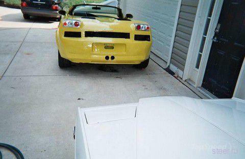 Dodge Stratus превратился в Lamborghini Gallardo (фото)
