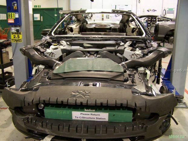 Как собирают Aston Martin