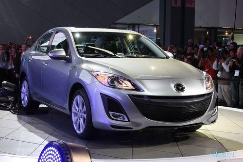 Седан Mazda3 на автошоу в Лос-Анджелесе