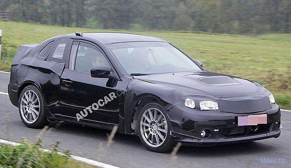 Новое купе назовут Subaru STI (фото)