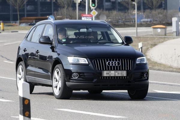 Шпионские фото нового Audi Q5 (фото)