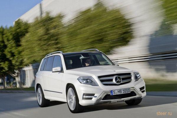 Mercedes-Benz обновил кроссовер GLK (фото)