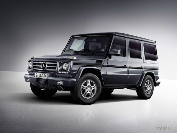 Mercedes-Benz обновил «Гелендваген» (G-Class) (фото)