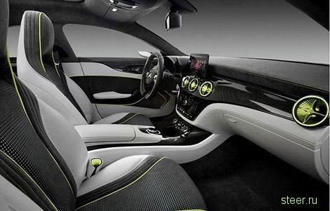 Mercedes-Benz Style Concept Coupe : Маленькое «четырехдверное купе» Mercedes-Benz рассекретили раньше срока (фото)