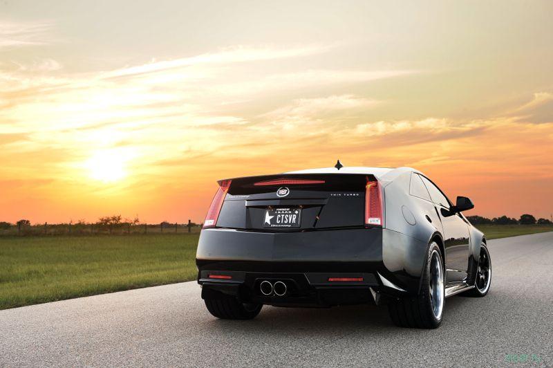 Cadillac CTS-V Hennessey : 390 км/час (фото)