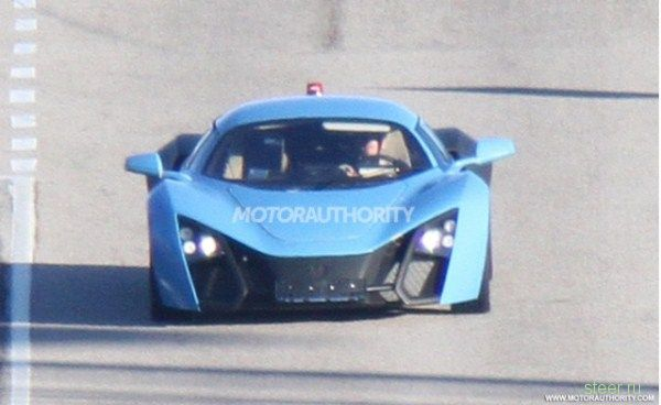 Marussia обновила свой спорткар