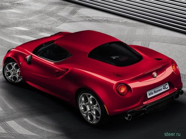 Alfa Romeo показали долгожданный спорткар Alfa Romeo C4