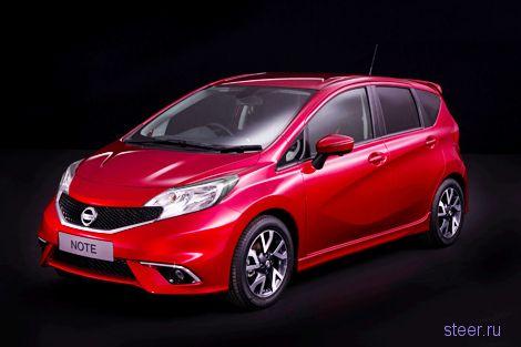 Nissan представил европейскую версию нового Note