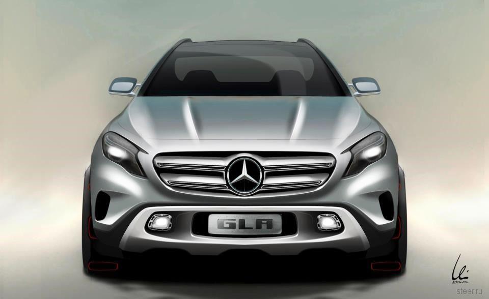 Mercedes-Benz досрочно показал концепт компакт-кроссовера GLA