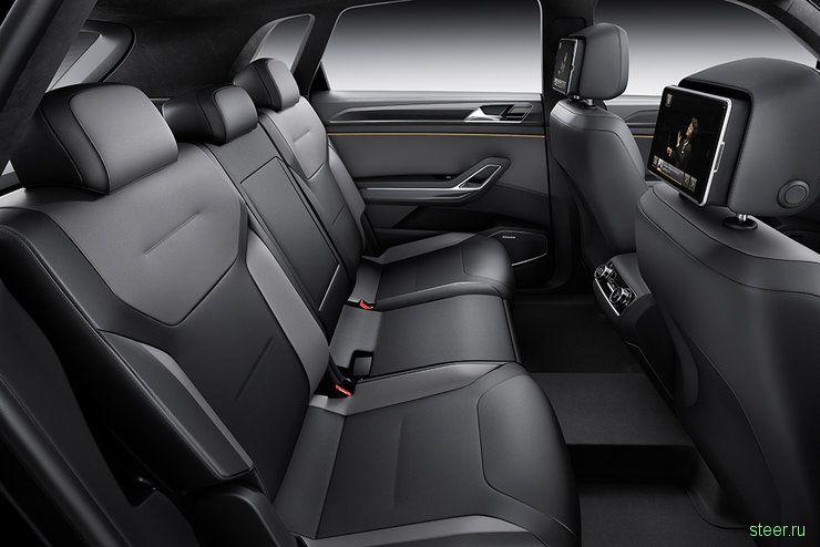 Volkswagen CrossBlue Coupe: новый большой внедорожник Volkswagen