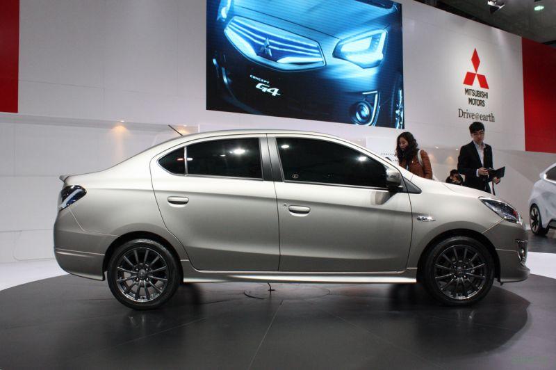 Mitsubishi Attrage : новинка в сегменте дешёвых седанов