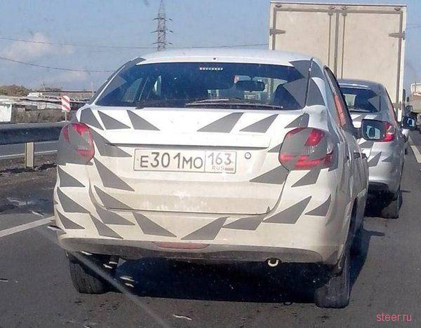 Хэтчбек Lada Granta заметили на дорогах