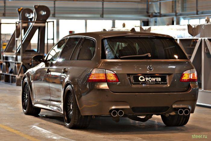 BMW M5 Hurricane RR Touring от ателье G-Power