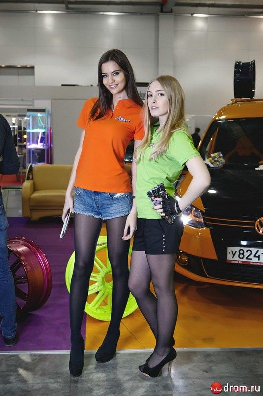 Девушки Фестиваля Автотюнинг 2014