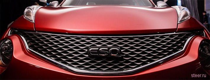 Премиум-версия Nissan Juke будет продаваться как Infiniti ESQ