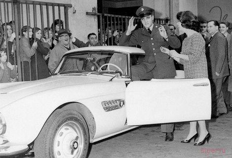 BMW отреставрирует родстер Элвиса Пресли