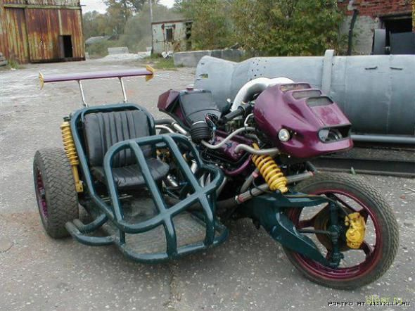 Чудо-монстр из ГАЗ 53