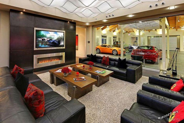 Особняк-гараж в Вашингтоне