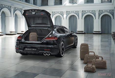 Panamera Exclusive Series : самая роскошная Porsche Panamera за 250 тысяч евро