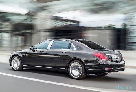 Объявлены рублевые цены на Mercedes-Benz AMG GT и Maybach