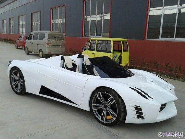Китайцы клонировали гиперкар Pagani Huayra