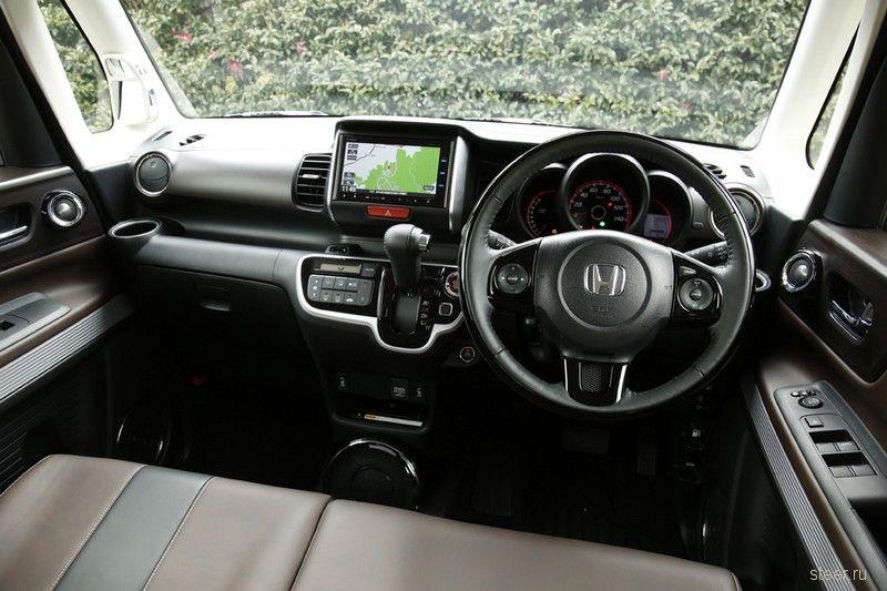 Honda начала продажи в Японии нового кей-кара N-BOX Slash