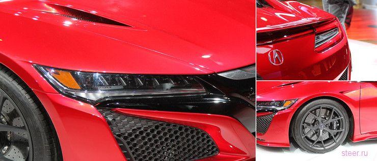 Acura показала новую серийную NSX