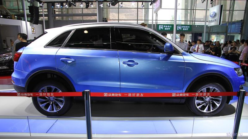 Китайцы представили клон Audi Q3