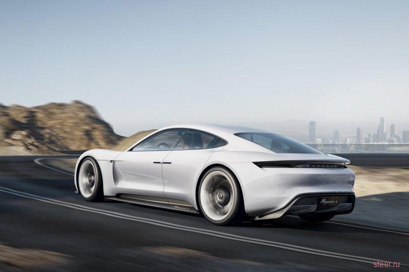 Porsche Mission E составит конкуренцию Tesla