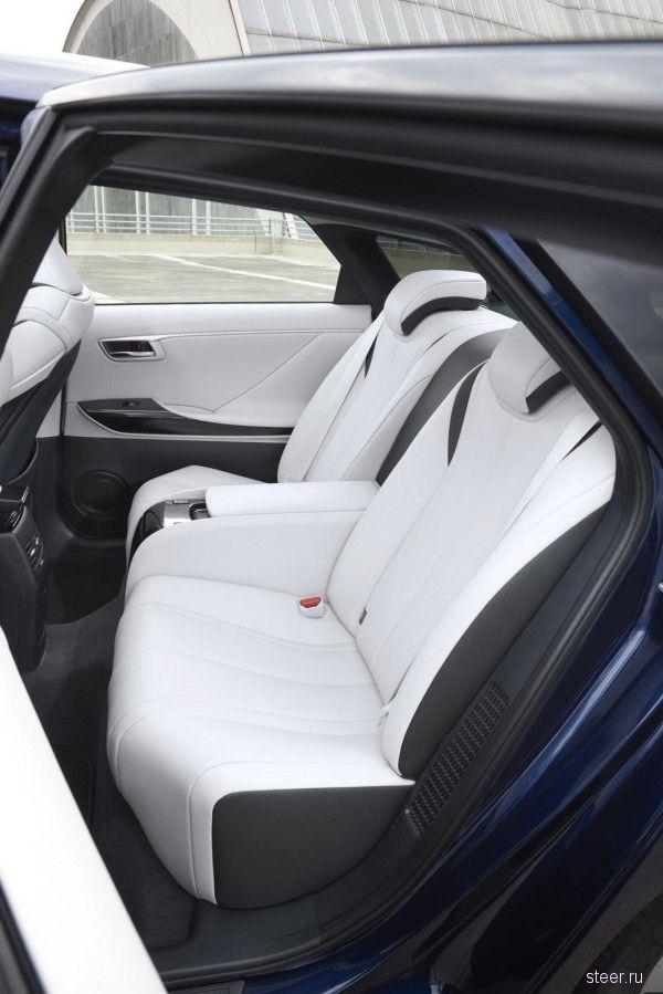 Представлена Toyota Mirai для европейского рынка